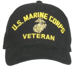 Marine Corps Veteran Caps helps Show your pride of service.