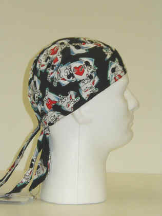 Headwraps- All The Aces One size fits all