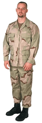 DESERT 3 COLOR BDU JACKET Online Price Only!