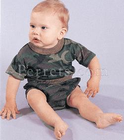 INFANT CAMO DIAPER COVER Baby diaper cover