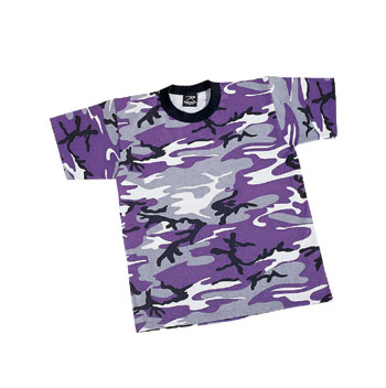 ULTRA VIOLET KID'S SHIRTS