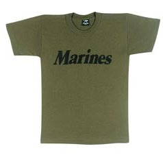 Marines Youth OD T-shirt