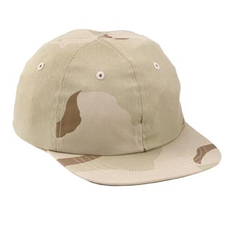 3 Color Kids Desert Cap - Matches fatigues