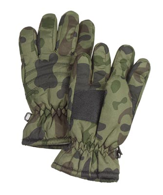Kids Camo Waterproof Gloves Keep their hands warm