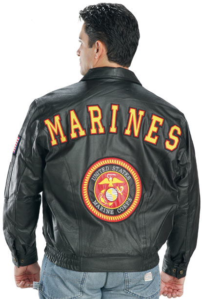 Marine Leather Jacket