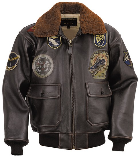 G1 Leather Flight Jacket Lambskin