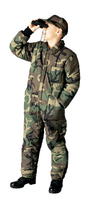 Kid's Woodland Coverall Keep those kiddies warm
