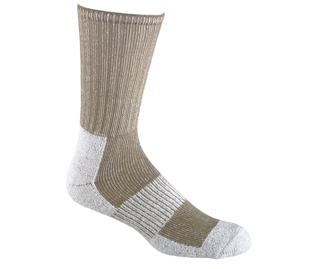 Wick Dry Hiking Socks Grey LG Medium Weight