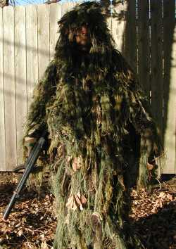 Ghillie Suit Competely Assembled.