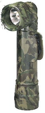 GI CAMO ANGLE FLASHLIGHT Army/Navy Basic for Decades