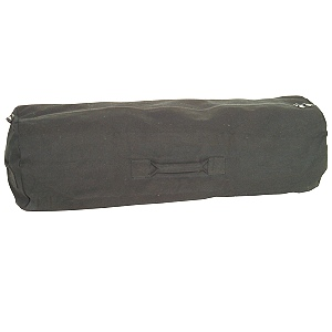 25 X 42 Zipper Duffel-This Duffle comes in Black or OD green