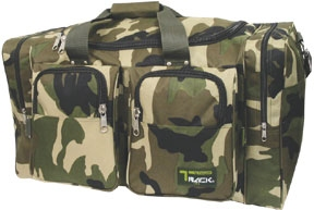 25 inch Camo Square Duffel Bag-This Duffle is 4400 cu inches