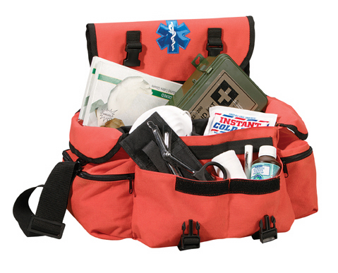 Orange EMT Response Bag