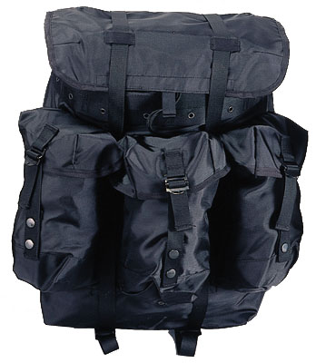 Black Medium Alice Pack wFrame