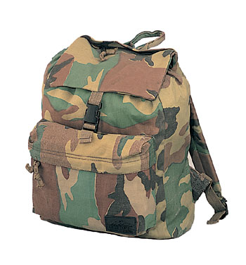 Camouflage Day Pack