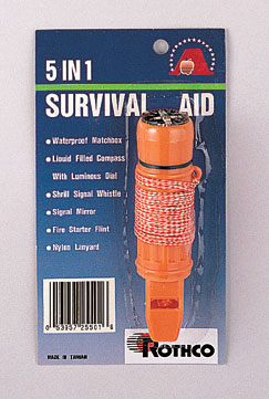 5 IN 1 SURVIVAL AID 5-IN-1