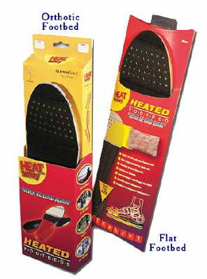Heated Insoles Work Just Like Handwarmer-Keep your feet warm