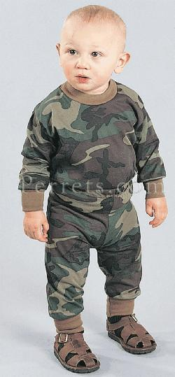 INFANT WOODLAND PANTS Just like Dad's