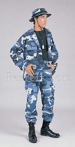 Sky Blue Twill BDU Pant is Very Popular, Very Cool