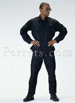 Black Poly/Cotton BDU Pant at a Great Sale Price