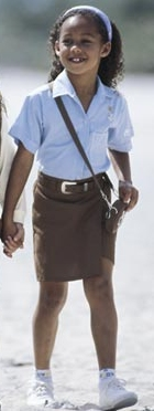 Brownie Girl Scout Skort-Basic part of the Official Uniform