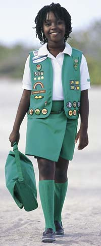 Junior Girl Scout Uniform Vest