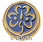 World Association Trefoil Pin
