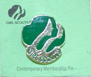 Girl Scout Comtemporary Pin