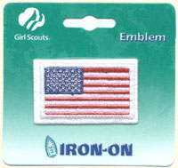 American Flag Patch Iron-on