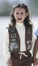 Brownie Uniform Vest