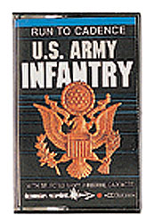 ARMY INFANTRY RUNNING TAPE #985