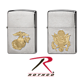 Zippo Lighters Armed Forces