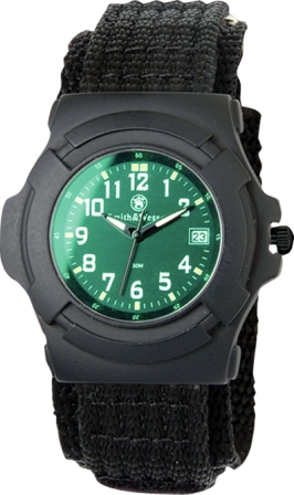 Lawman Watch-Electronic Back Glow, Nylon Strap