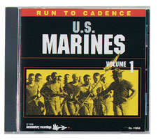 CD Run to Cadence Of the USMC