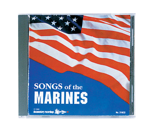 CD Songs Of The Marines