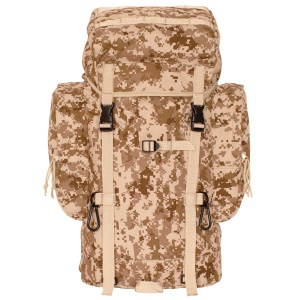 Rio Grande 45 Liter Backpack in USMC Digital Desert Camo