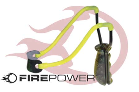 Firepower Paintball Slingshot Shoots Steel and Marbles