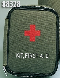 ZIPPER 1ST AID MILITARY ZIPPER FIRST AID KIT
