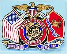 Decal These Colors Never Run United States Marines