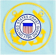 Decal- United States Coast Guard Round