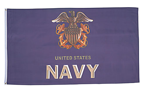 US NAVY ANCHOR 3 X 5 FLAG #1497