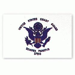 US COAST GUARD FLAG 3 X 5 Printed Polyester