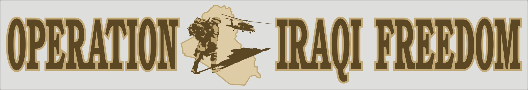 Oper.Iraqi Freedom Window Strip