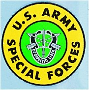 US Army Special Forces Decal