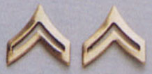 Corporal Pin On Rank