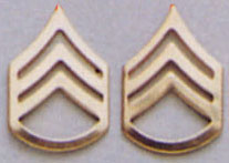 Staff Sergeant Pin On Rank