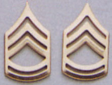 Sergeant First Class Pin On Rank