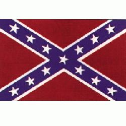 CONFEDERATE FLAG 3 X 5 Also known as a REBEL Flag