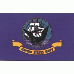 US NAVY FLAG 3 X 5 Printed Polyester US NAVY Flag