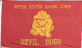 USMC DEVIL DOGS FLAG #1461